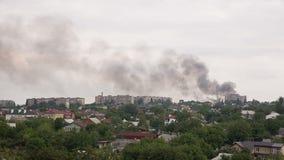 Após a greve da artilharia em Donetsk video estoque