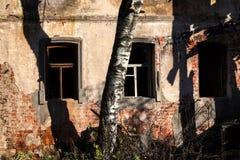 Após o fogo Rússia imagem de stock royalty free