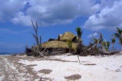 Após o furacão Fotos de Stock Royalty Free
