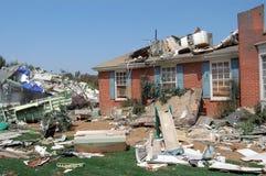Após o furacão imagens de stock royalty free