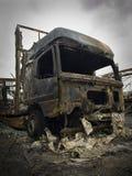Após o incêndio Imagens de Stock Royalty Free