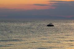 Após o por do sol Fotos de Stock Royalty Free