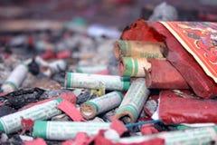 Após os fogos-de-artifício 1 Imagens de Stock Royalty Free