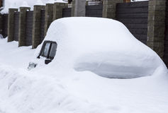 Após a tempestade de neve Fotos de Stock Royalty Free