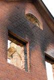 Após um incêndio Imagens de Stock Royalty Free