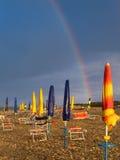 Após uma tempestade do verão Foto de Stock
