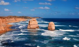 12 apóstoles australia Fotografía de archivo libre de regalías