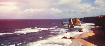 12 apóstoles australia Imagen de archivo libre de regalías