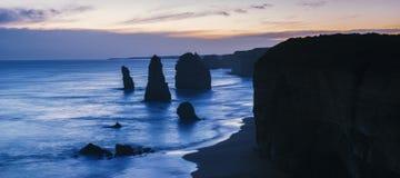 12 apóstoles en el gran camino del océano Imágenes de archivo libres de regalías