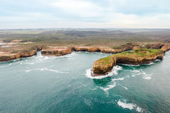12 apóstoles hermosos famosos en Australia Fotos de archivo