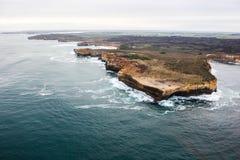 12 apóstoles hermosos famosos en Australia Fotos de archivo libres de regalías