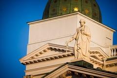 Apóstolo na catedral em Helsínquia Fotografia de Stock