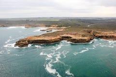 12 apóstolos bonitos famosos em Austrália Fotografia de Stock Royalty Free