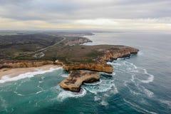 12 apóstolos bonitos famosos em Austrália Imagem de Stock Royalty Free