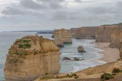 12 apóstolos, grande estrada do oceano, Victoria Australia Oct 2017 Imagens de Stock