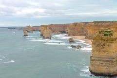 12 apôtres, grande route d'océan, Victoria Australia Oct 2017 Images stock