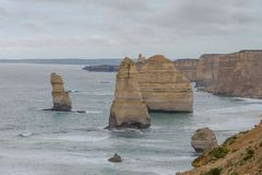 12 apôtres, grande route d'océan, Victoria Australia Oct 2017 Images libres de droits
