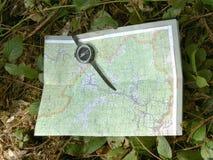 ap-kompass Arkivbild