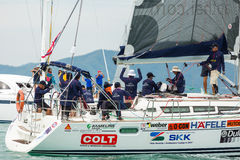 AP Platu class sailors on duty Stock Photography