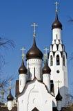 Apôtre Peter Church et Belltower dans le St Petersbourg, Russie Photos libres de droits