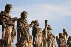 Apôtres à l'église de St Peter et de Paul à Cracovie Photos stock