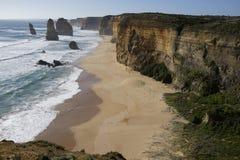 12 apôtres - grande route d'océan Images libres de droits