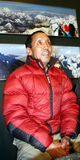 Apa Sherpa in Czech republic. Nepalese Sherpa mountaineer Apa Sherpa visit on November 23, 2009 in Lednice, Czech republic. Man reach the summit of Mount Everest Stock Photos