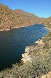 apache λίμνη της Αριζόνα Στοκ φωτογραφία με δικαίωμα ελεύθερης χρήσης