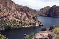 apache ίχνος ΗΠΑ λιμνών της Αριζόνα Στοκ Φωτογραφίες