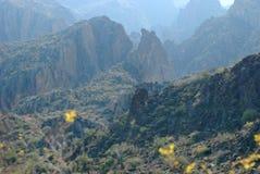 apache ίχνος τοπίου της Αριζόνα Φοίνικας Στοκ φωτογραφίες με δικαίωμα ελεύθερης χρήσης