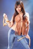 apache προκλητικός Στοκ φωτογραφία με δικαίωμα ελεύθερης χρήσης