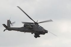 Apache. Helicopter Stock Image