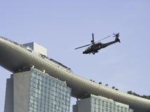 Apache AH långbåge 64D vid Boeing Royaltyfri Bild