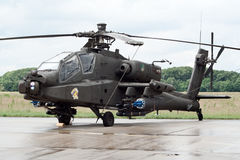 Apache attack helicopter Royalty Free Stock Photography