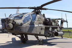 Apache attack helicopter Stock Image