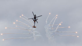 Apache flares Royalty Free Stock Images