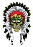Apache głowa Obrazy Stock