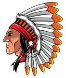 Apache głowa Zdjęcia Stock