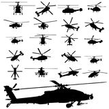 apache helicopter royalty free illustration