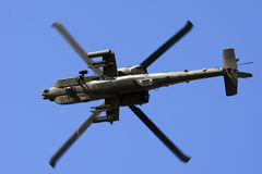 Apache Helicopter. An Army apache helicopter in flight Stock Images