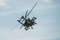 Apache helicopter Stock Image
