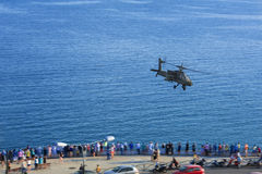 Apache helicopter show Royalty Free Stock Photos