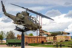 Apache helicopter vietnam era stock images