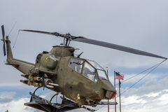 Apache helicopter vietnam era royalty free stock images