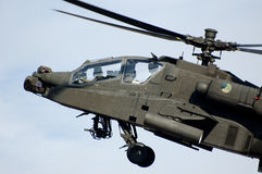 apache helikopter Fotografering för Bildbyråer