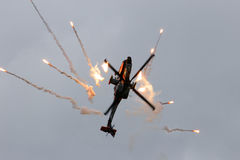 Apache helikopter Royaltyfri Fotografi