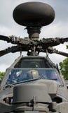 Apache helikopter Arkivbild
