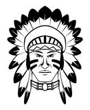 Apache. Illustrator desain .eps 10 Royalty Free Stock Photo