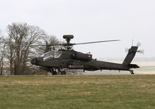 Apache im Ruhezustand stockfotografie