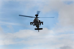 Apache-Kampfhubschrauber Lizenzfreies Stockbild